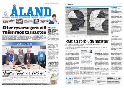 Ålandstidningen – 07 december 2017