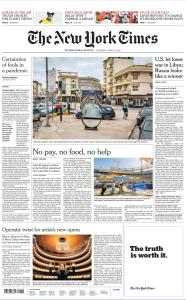International New York Times - 16 April 2020