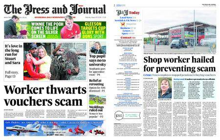 The Press and Journal Moray – August 18, 2018