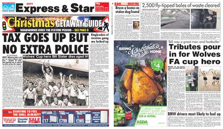 Express and Star City Edition – December 19, 2018