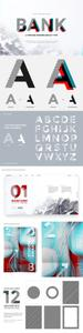 Bank typeface 1755845