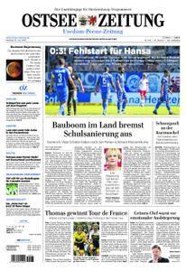 Ostsee Zeitung Wolgast - 30. Juli 2018