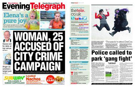 Evening Telegraph First Edition – March 20, 2018