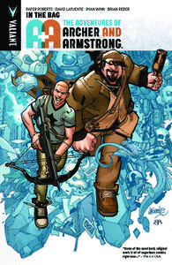 Valiant-A and A The Adventures Of Archer And Armstrong Vol 01 In The Bag 2016 Retail Comic eBook