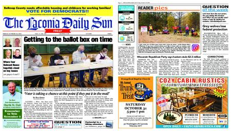 The Laconia Daily Sun – October 30, 2020