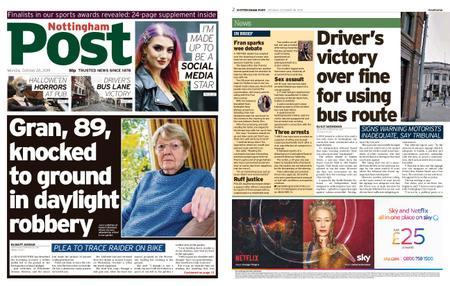 Nottingham Post – October 28, 2019