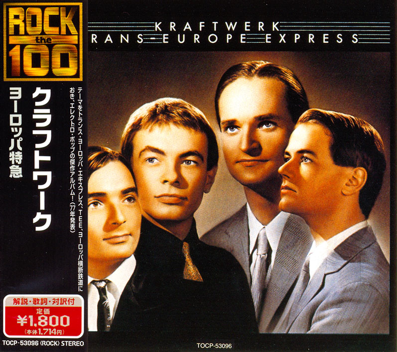 Kraftwerk - Trans-Europe Express (1977) Japanese Reissue 1999 [Re-Up]
