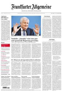 Frankfurter Allgemeine Zeitung F.A.Z. - 17. Oktober 2018
