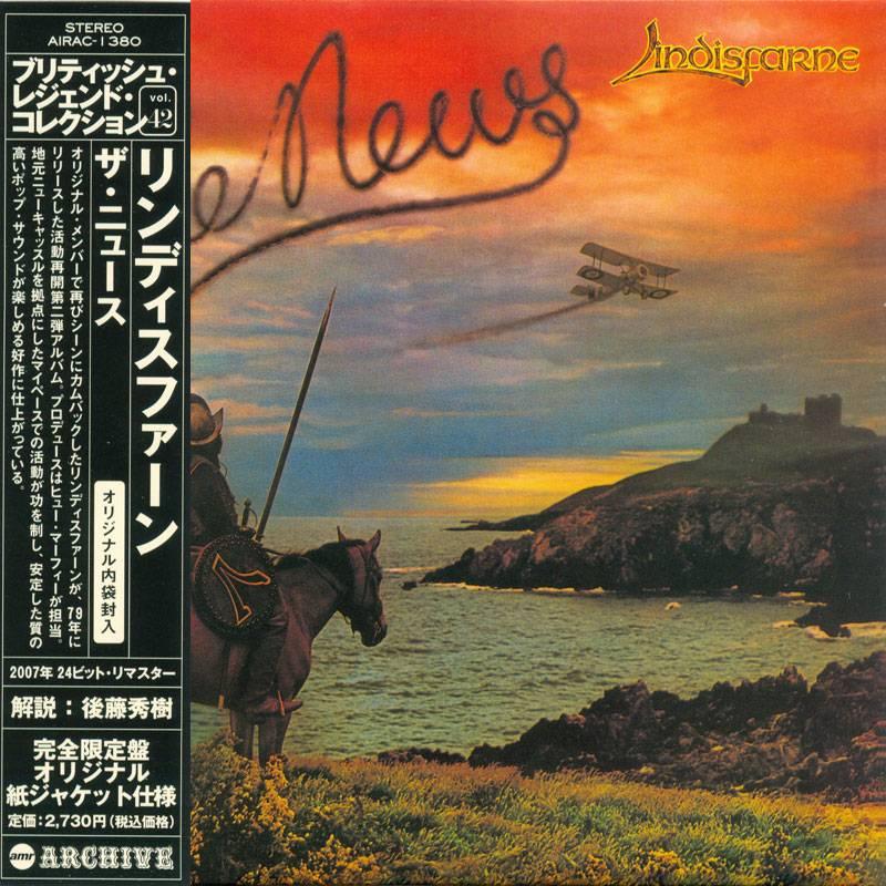 Lindisfarne - The News (1979) [Air Mail Archive AIRAC-1380, Japan]