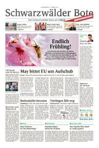 Schwarzwälder Bote Hechingen - 21. März 2019