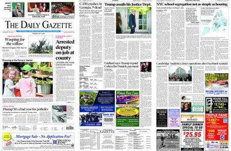 The Daily Gazette – May 03, 2018