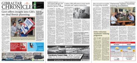 Gibraltar Chronicle – 30 August 2019