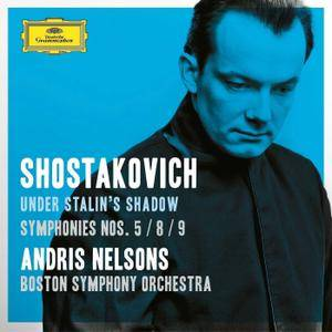 """Andris Nelsons - Shostakovich: Symphonies Nos. 5, 8 & 9; Suite From """"Hamlet"""" (2016)"""