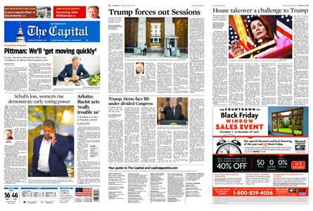 The Capital – November 08, 2018
