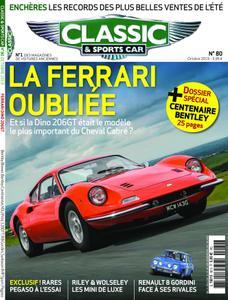 Classic & Sports Car France - octobre 2019
