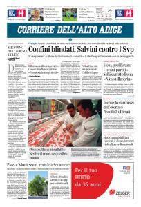 Corriere dell'Alto Adige - 12 Luglio 2018