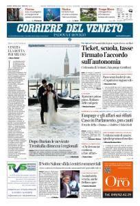 Corriere del Veneto Padova e Rovigo - 1 Marzo 2018
