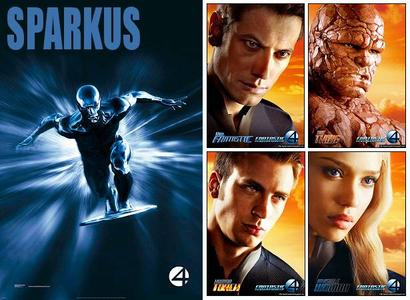 Fantastic Four Rise of the Silver Surfer Movie Posters