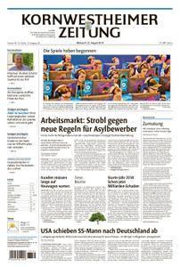 Kornwestheimer Zeitung - 22. August 2018