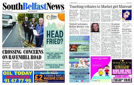 South Belfast News – October 18, 2018