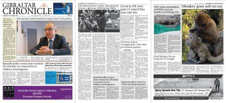 Gibraltar Chronicle – 31 October 2019
