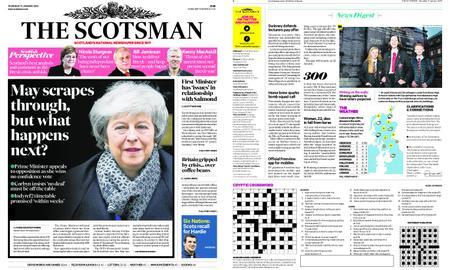 The Scotsman – January 17, 2019