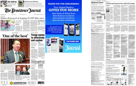 The Providence Journal – July 16, 2019
