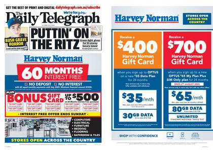 The Daily Telegraph (Sydney) – July 31, 2020