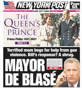 New York Post - April 10, 2021