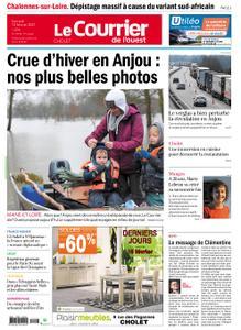 Le Courrier de l'Ouest Cholet – 13 février 2021
