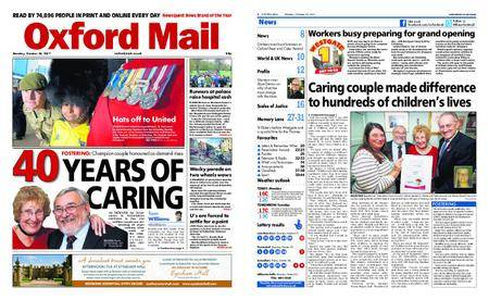 Oxford Mail – October 23, 2017