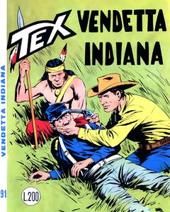 Tex N.091 - Vendetta indiana (Araldo 1968-05)
