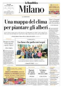 la Repubblica Milano - 21 Novembre 2019
