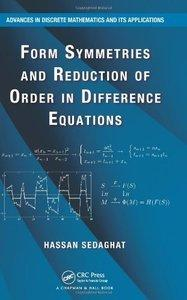 Form Symmetries and Reduction of Order in Difference Equations (repost)