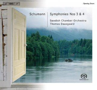 Swedish Chamber Orchestra, Thomas Dausgaard - Schumann: Symphonies Nos 3 & 4 (2008) [Official Digital Download]