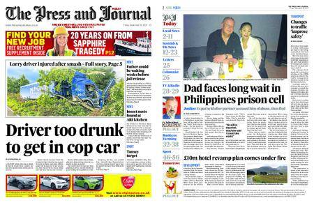 The Press and Journal Moray – September 29, 2017