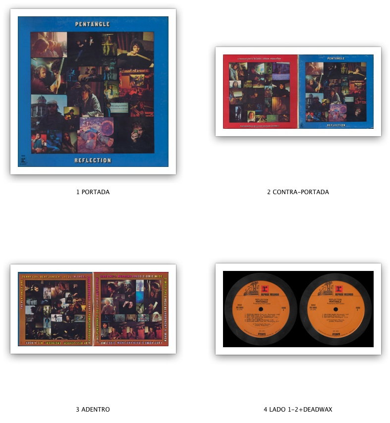 Pentangle Reflection 1971 Reprise Records Rs 6463