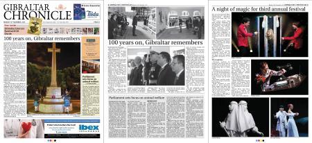 Gibraltar Chronicle – 12 November 2018