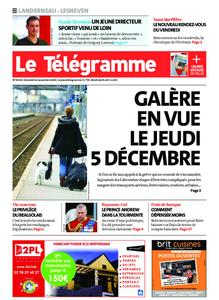 Le Télégramme Landerneau - Lesneven – 22 novembre 2019