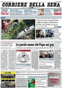 Il Corriere della Sera (30-07-13)