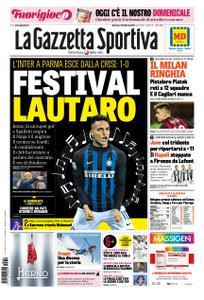 La Gazzetta dello Sport Roma – 10 febbraio 2019
