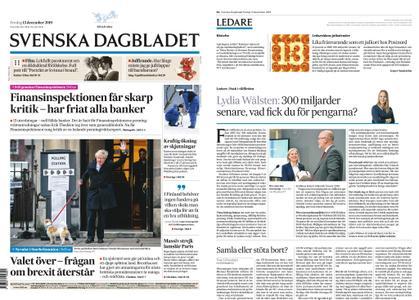 Svenska Dagbladet – 13 december 2019
