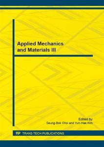 Applied Mechanics and Materials III