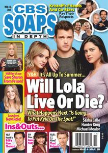 CBS Soaps In Depth - March 18, 2019
