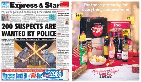 Express and Star City Edition – December 15, 2017
