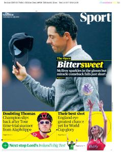 The Guardian Sport - July 20, 2019
