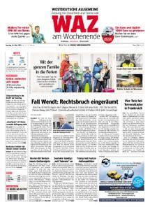 WAZ Westdeutsche Allgemeine Zeitung Oberhausen-Sterkrade - 24. März 2018