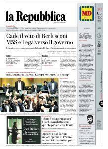 la Repubblica - 10 Maggio 2018