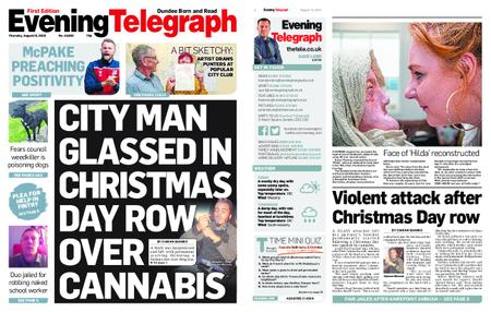 Evening Telegraph First Edition – August 15, 2019