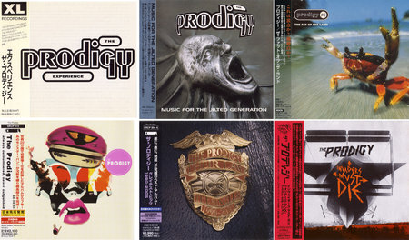 The Prodigy - Albums Collection 1992-2009 (9CDs) [Japanese Editions] Re-Up